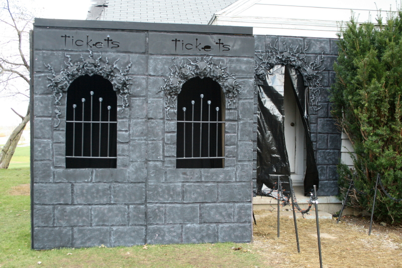 New Ticket Booth and Entry Facade